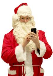 Auch der Samichlaus versendet SMS