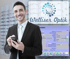 Adrian Walliser, Gesch�ftsleiter der Walliser Optik