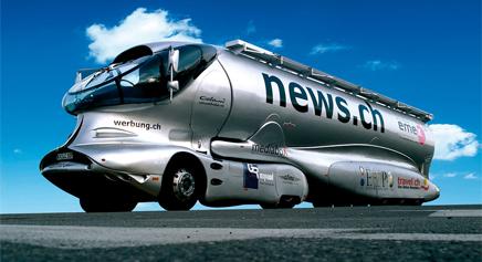 Luigi Colani Space Truck