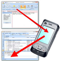 Outlook Mobile Service